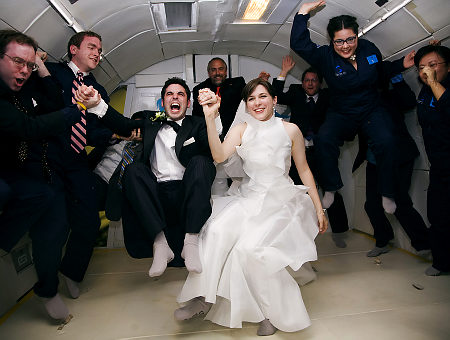 zero gravity wedding toronto