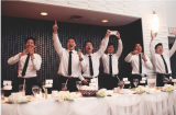 Groomsmen - Loved the excitement from the groomsmen!